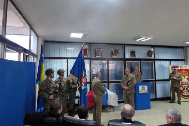 Делегација БОРС-а присуствовала примопредаји дужности команданта 3. РС Пука