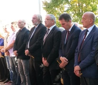 Предсједник Предсједништва БОРС-а присуствовао откривању спомен обиљежја у Козарској Дубици