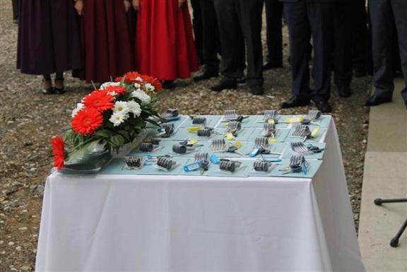 Градишка – уручени кључеви за породице погинулих бораца и ратне војне инвалиде