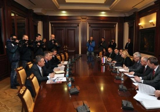 Састанак руководства Борачке организације са премијером Републике Српске