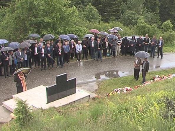 Жепа - Помен мучки убијеним српским борцима