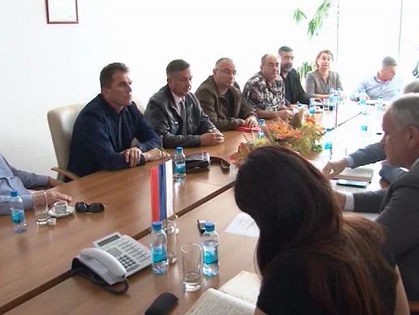 Састанак делегације Борачке организације са министром Савановићем
