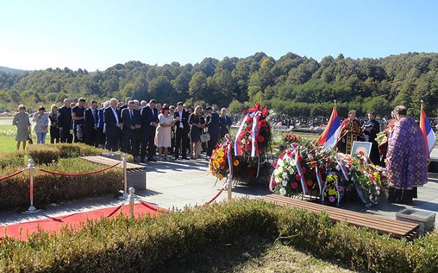 Представници БОРС-а на обиљежавању годишњице смрти Милана Јелића