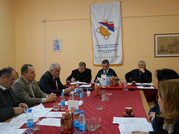 Сједница Одбора породица погинулих и заробљених бораца БОРС-а