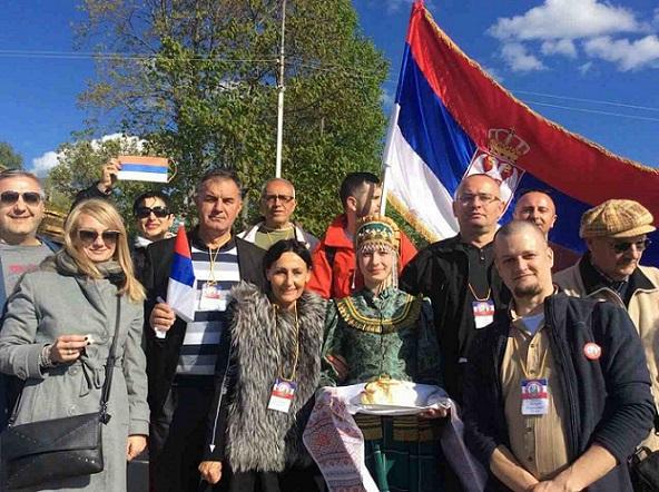 Војин Гушић присуствовао Свеславенском сабору  у Русији