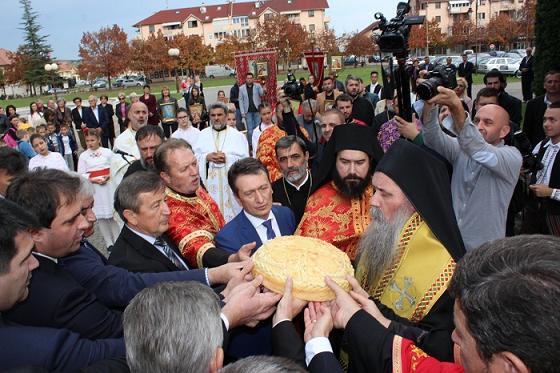 Предсједник Савчић присуствовао обиљежавању крсне славе општине Угљевик