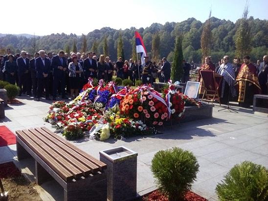 Предсједник Савчић на обиљежавању годишњице смрти Милана Јелића