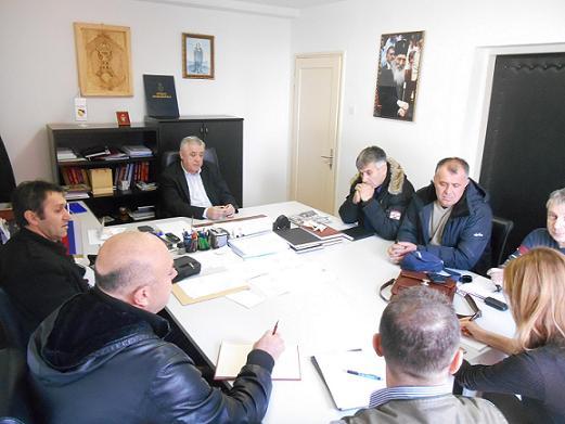 Састанaк предсједника БОРС-а са делегациом Борачке организације Жељезница РС