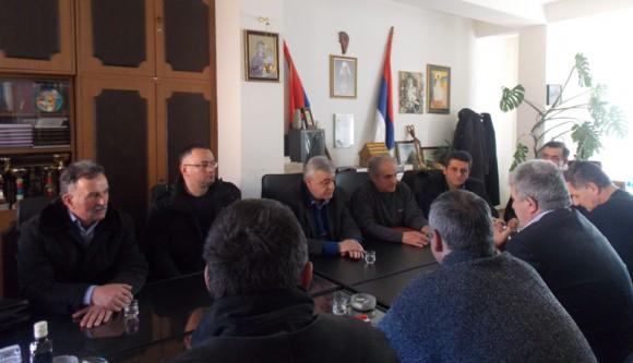 Предсједник БОРС-а Миломир Савчић у Гацку