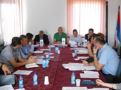 Сједница Одбора ратних војних инвалида БОРС-а