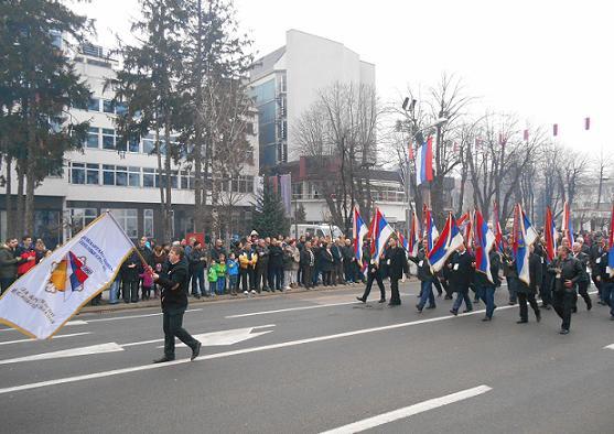 Борачка организација учествовала у Свечаном дефилеу поводом Дана Републике