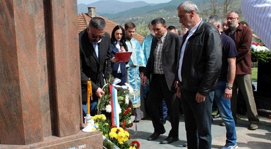 VIŠEGRAD, 12. APRILA /SRNA/ - Služenjem parastosa na vojničkom groblju Megdan u Višegradu danas je obilježeno 25 godina od stradanja ruskih dobrovoljaca u posljednjem odbrambeno–otadžbinskom ratu u Republici Srpskoj.