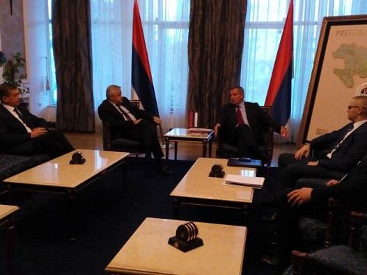 Делегација БОРС-а на састанку са мандатаром Владе РС