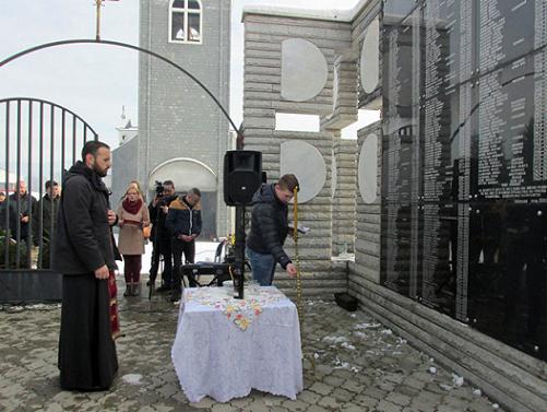 У Скеланима служен парастос за Србе убијене 1993. године