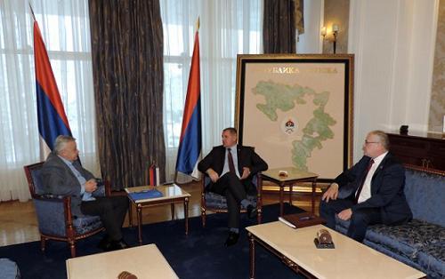 Састанак предсједника Савчића са премијером Вишковићем
