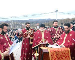 Služen parastos žrtvama ustaškog pokolja u Drakuliću