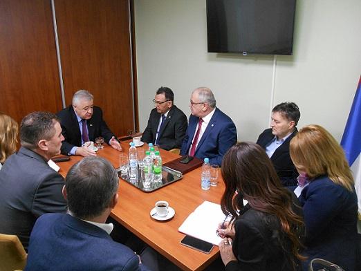 Ministar Milunović u posjeti Boračkoj organizaciji