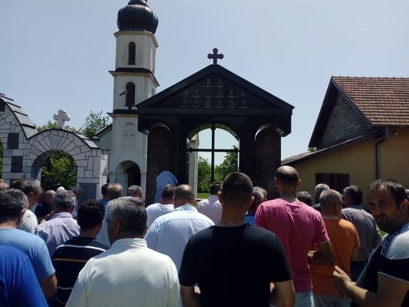 Помен у Малешићу за погинуле борце и настрадале цивиле у протеклом одбрамбено - отатџбинском рату