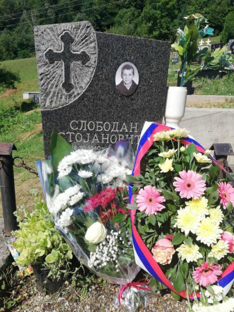 Парастос дјечаку мученику Слободану Стојановићу (12) и другој невино страдалој дјеци