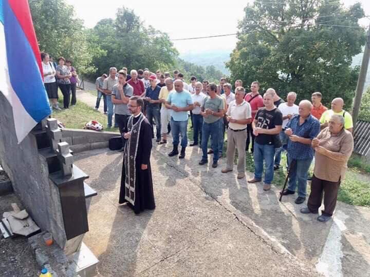 Помен погинулим припадницима зворничке и шековачке бригаде ВРС на Громилицама августа 1992. године