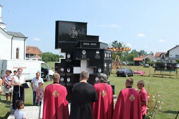 У Мртвици код Лопара служен помен погинулим борцима