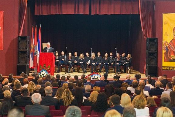 Predsjednik Rogić prisustvovao Svečanoj akademiji opštine Srbac