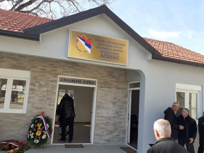 U Ljubinju osveštani Spomen-soba i Spomenik poginulim borcima