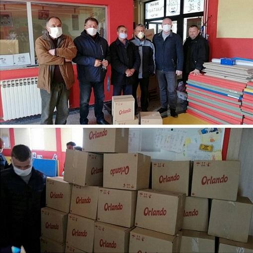Paketi pomoći za Boračku organizaciju Laktaši