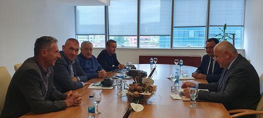 Састанак руководства БОРС-а са министром Милуновићем