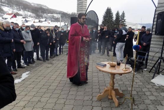 Служен парастос за страдале Србе Скелана