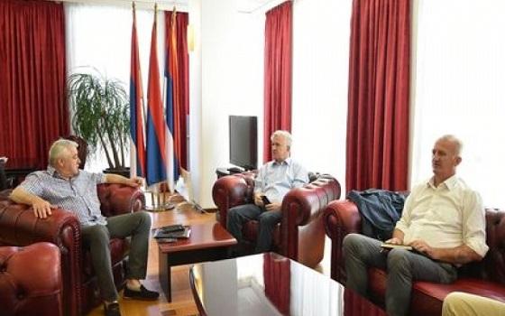 Генерал Савчић са предсједником Народне скупштине разговарао о положају и статусу бораца